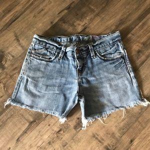 Gap Distress Limited Denim Shorts